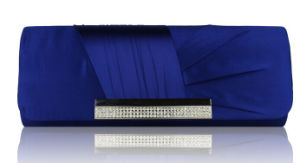 Distinctive Designer Satin Clutch Evening Hand Bags (XW803) pictures & photos
