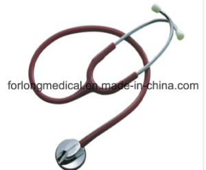 Kt-104A Deluxe Doctor′s Single Head Stethoscope pictures & photos