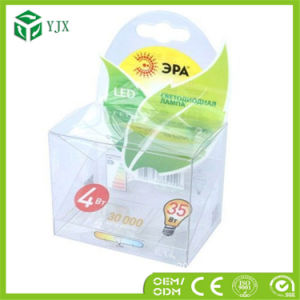 LED Light Bulb Packaging PVC Box Wholesale LED Packaging Box