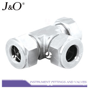 Swagelok Stainless Steel Tee Connector Pipe Fitting pictures & photos