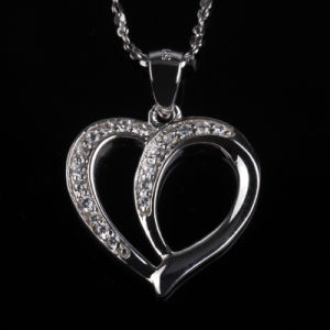 Forever Love Heart Shape Fashion Pendant Jewellery Necklace for Gift pictures & photos