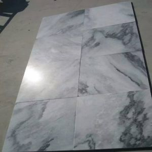 Natural White/Black Marble Tiles Chinese Landscape Painting Marble