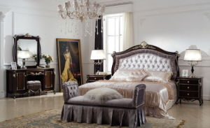Classical Wooden Bedroom Furniture-Jl-B1001b Bedroom