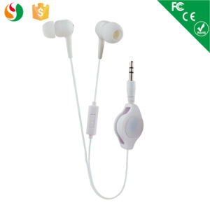 Most Popular Retractable in Ear Earphone at Factory Price pictures & photos