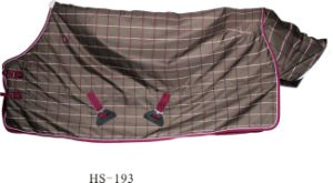 1200d Plaid Horse Turnout Blanket