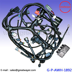 backshell routers 0515-015-4005 cummins engine wiring harness 3684480