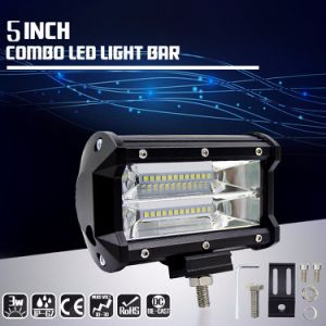 China factory direct sell car accessories 5 inch 72w tri row led factory direct sell car accessories 5 inch 72w tri row led light bar off road aloadofball Image collections