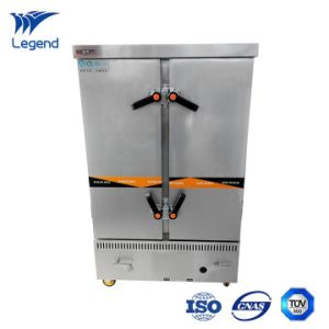China Gas Type Stainless Steel Commercial Steamer for Restaurant ...