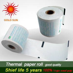 12 Mm Plastic Core Thermal Paper Roll (TP-013) pictures & photos