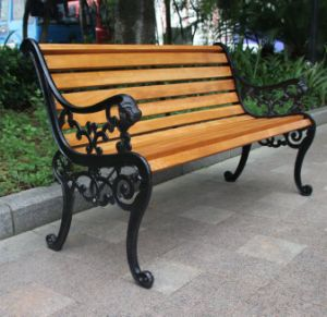 China Antique Cast Iron Wrought Iron Park Bench Garden Bench Price
