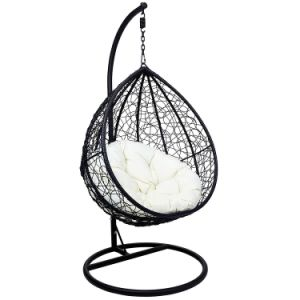 Hangende Egg Chair.China Graden Metal Frame Round Wicker Swing Hanging Chair China