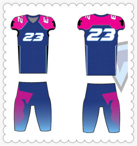 55931ad94 China High Quality Custom Sublimated American Football Jerseys ...