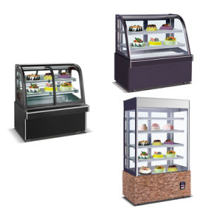 Commercial Use Cake Display Counter Refrigerator Showcase Chiller