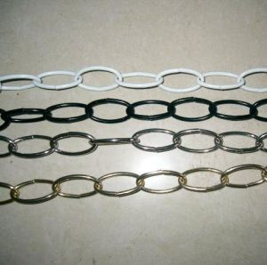 Decorative Oval Non-Welded Link Chain pictures & photos
