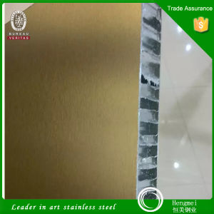 PVD Stainless Steel Honeycomb Panel Composite Panel for Metal Project Working pictures & photos