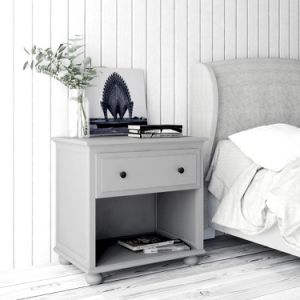 China Painted Wooden Cheap Nightstand Bedside Table Bedroom ...