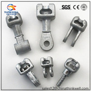 Overhead Line Hardware Forged Socket and Ball for Composite Insulator pictures & photos