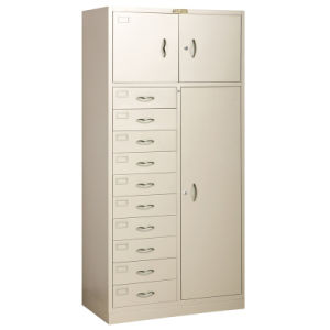 Locker with 10 Drawer and 3-Doors (QBW-A0910DW3DR)