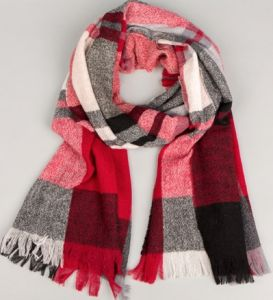 Women Winter Wool Scarf