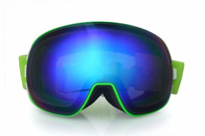Anti Fog Mirrored Ski Products Protective Goggle Bucked Replacement Lenses pictures & photos