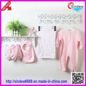 100% Cotton Baby′s Wear Set Girl pictures & photos