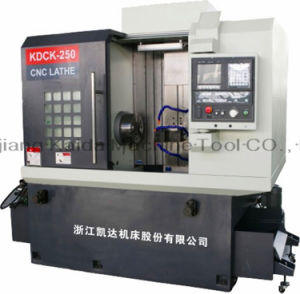 Economic Vertical High Precision CNC Lathe (KDCK250) pictures & photos