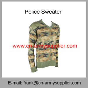 Military Jumper-Military Cardigan-Military Jersey-Military Pullover-Camouflage Military Sweater pictures & photos