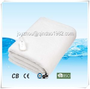 Comfortable Polar Fleece Electric Heated Blanket with Over Heat Protection pictures & photos