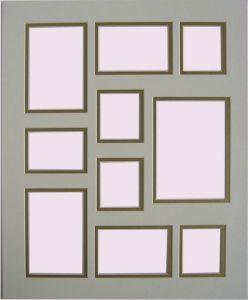 China Collage Mat Board For Big Picture Frame Digital Frames 810