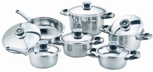 12PCS Stainless Steel Cookware Set (JC2005)