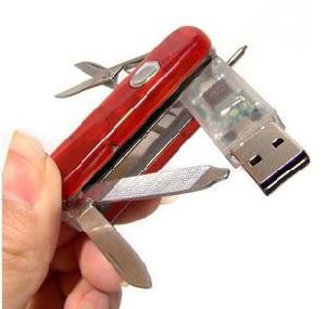 Hot Sale Plastic Knife USB Flash Drive pictures & photos