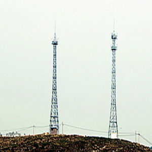 Telecommunication Power Transmission Galvanized Steel Tower pictures & photos