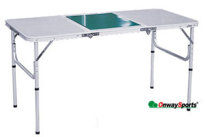 3-Folding BBQ Table/Cooking Table/ Aluminum Folding Table/Family BBQ/Camping