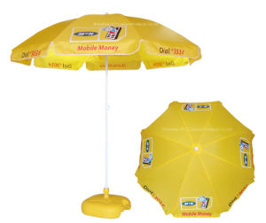 Beach/Outdoor Umbrella with Customized Design pictures & photos