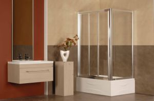 Caml 800*800 Corner Sliding Shower Enclosure/Shower Door/Shower Room (FGS104)