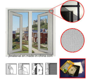 DIY Polyester Magnetic Screen Fly Screen Mosquito Net Insect Screen pictures & photos
