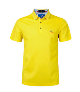 Men′s Cotton Custom Logo Polo T Shirt Manufacture in China