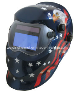 Cr2032 Solar Powed Autodarkening Welding Helmet (W1190TC) pictures & photos
