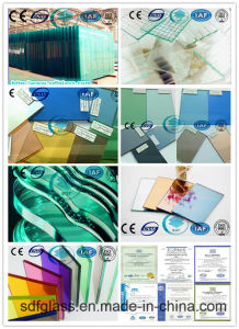 Float Glass Reflective Glass Patterned Glass Laminated Glass Glass Mirror Tempered Glass Acid-Etched Glass Processed Glass with Ce ISO