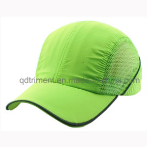 Breathable Microfiber Mesh Fabric Baseball Sport Cap (TRNR082) pictures & photos