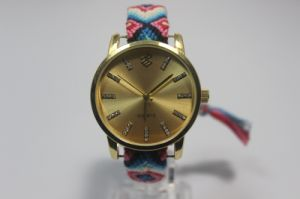 Hand Woven Watchband Fashion Watch pictures & photos