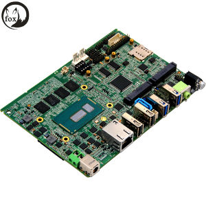 4*Mpcie 1*SATA 3.0 Brodwell-U Mainboard Support 3*SIM Card Socket pictures & photos