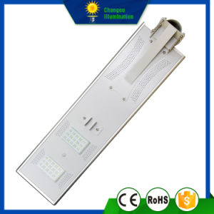 30W All in One LED Panel Solar Streetlight