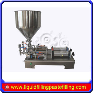 Double Head Paste Filling Machine 5-100 Ml