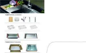 High Quality Stainless Steel Kitchen Sink (sgp-009)