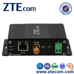 10/100Base-TX Ethernet Over Coaxial with PoE+ & PoC (EOC101Pat-T/R)