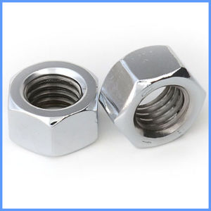 China Factory Supply DIN 934 Carbon Steel Hex Head Nut pictures & photos