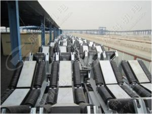 Material Loading Point, Replace Impact Roller, Heavy Duty Composit Conveyor Impact Buffer Bed pictures & photos