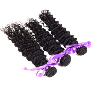 Virgin Mongolian Kinky Curly Hair Weave 3 Bundles, Cheap Mongolian Kinky Curly Virgin Hair Weaves 100% Human Hair Curly Bundles pictures & photos