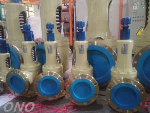 Safety Relief Valve for Gas Boiler with Flange pictures & photos